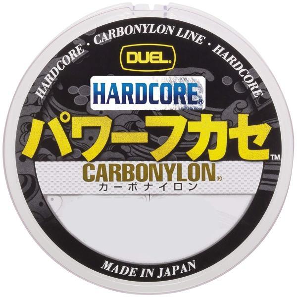 デュエル(DUEL) ライン(カーボナイロン): HARDCORE パワーフカセ 150m 2.5号 MP: ミルキーピンク