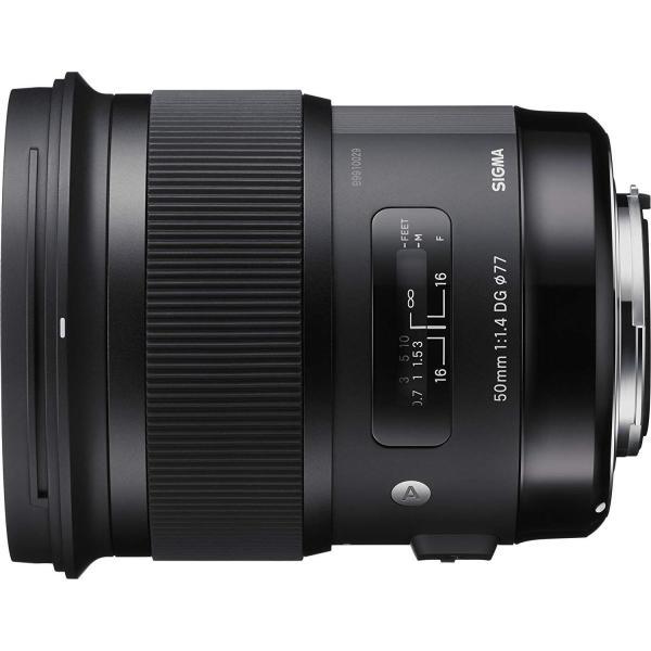 SIGMA 単焦点標準レンズ Art 50mm F1.4 DG HSM キヤノン用 フルサイズ対応 311544