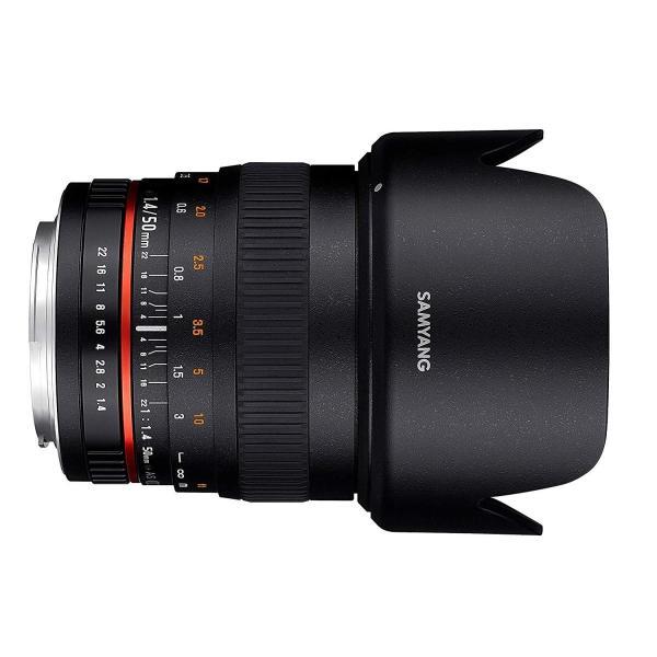 SAMYANG 単焦点標準レンズ 50mm F1.4 キヤノン EOS M用 フルサイズ対応