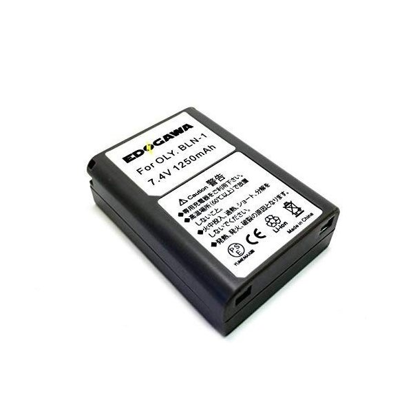 EDOGAWA BLN-1 互換バッテリー OLYMPUS オリンパス ED-BAT224649