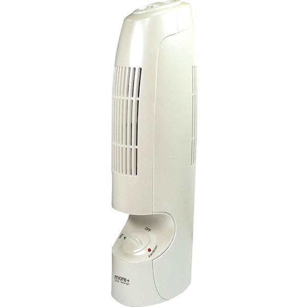 フィルター交換不要 空気清浄機 & マイナスイオン 消臭 スリム エアクリーナー WH MEH-16WH