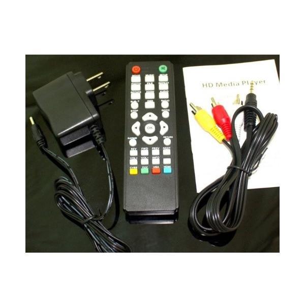 ウルトラ メディアプレーヤー DIVX XVID MPEG4 VOB PC不要 TV 再生 HDMI VGA