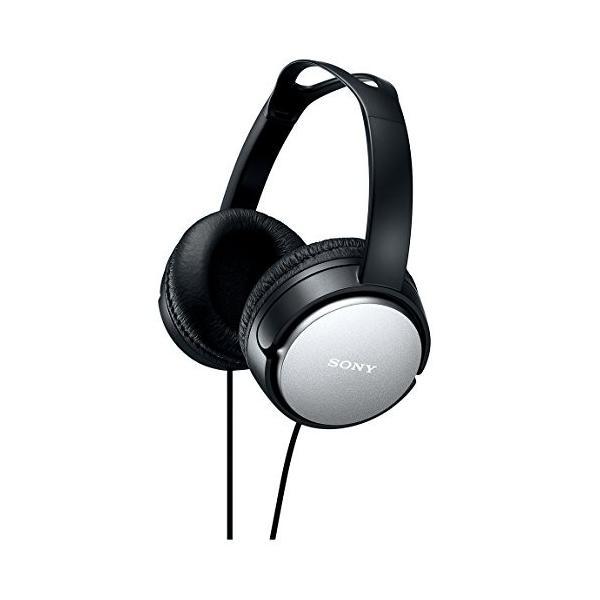 ソニー SONY ヘッドホン MDR-XD150 : 密閉型 屋内用(テレビ・オーディオ用) ブラック MDR-XD150 B