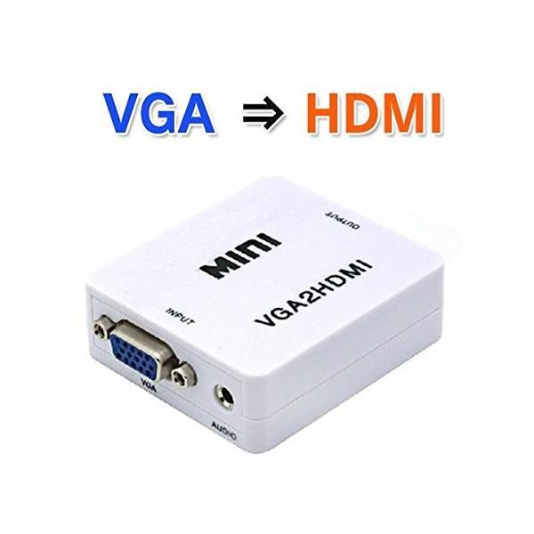 SUNNY VGA→HDMI 映像アップコンバーター VGA出力をHDMIに変換 SN-VGA2HDMI