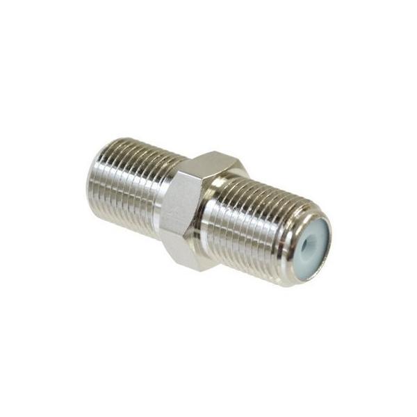 F型接栓(コネクター) 中継用 5ヶ入 テレビアンテナ接栓ジョイント用 F-F