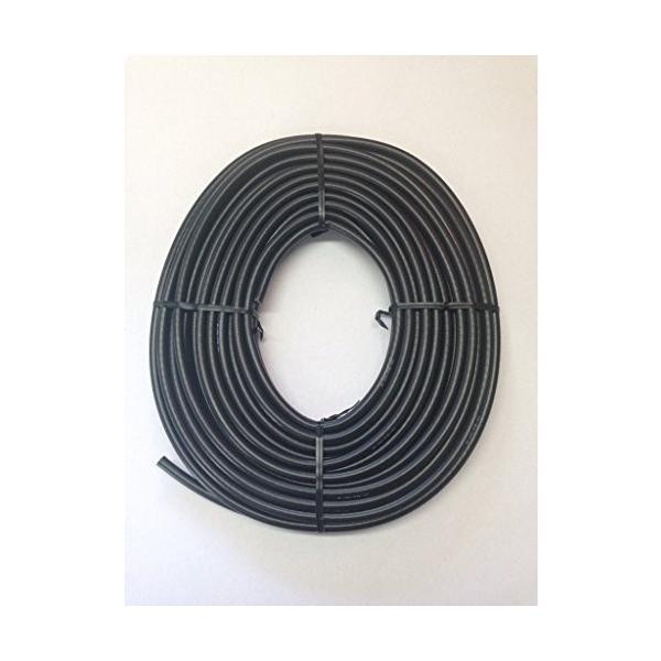 S4C-FB-AL 黒色 10m x 1巻 テレビアンテナ同軸ケーブル 編組アルミ合金線S4CFBAL-10B