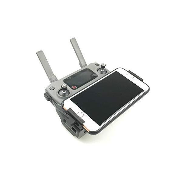 Honbobo DJI Mavic 2 Pro/Mavic 2 Zoom受信機対応携帯電話ホルダー 受信機アクセサリー より大きなスマートフ