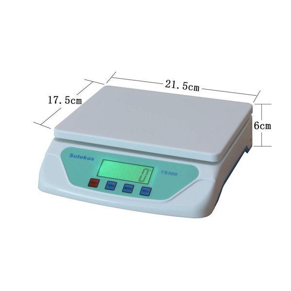 Sutekus 1g単位 最大25Kgまで計量可能 デジタル台はかり スケール 電子秤 風袋機能搭載 オートオフ機能|hellodolly|13