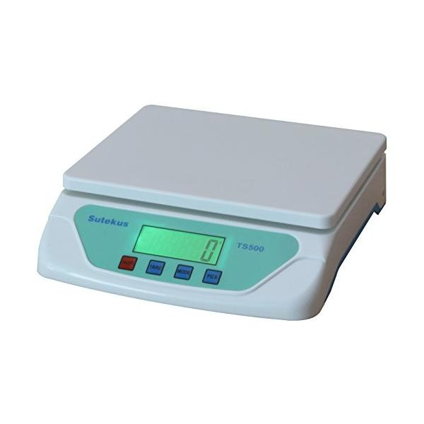 Sutekus 1g単位 最大25Kgまで計量可能 デジタル台はかり スケール 電子秤 風袋機能搭載 オートオフ機能|hellodolly|09