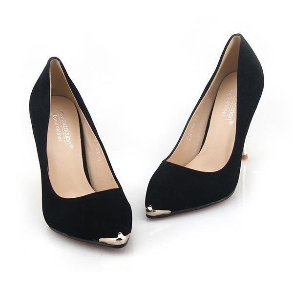 パンプス ヒール2type 6.5センチor9センチ 美脚 ピンヒール パンプス 靴 くつ シューズ 大きいサイズ 秋 フォーマル hellowstation 04