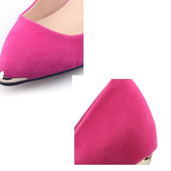 パンプス ヒール2type 6.5センチor9センチ 美脚 ピンヒール パンプス 靴 くつ シューズ 大きいサイズ 秋 フォーマル hellowstation 08