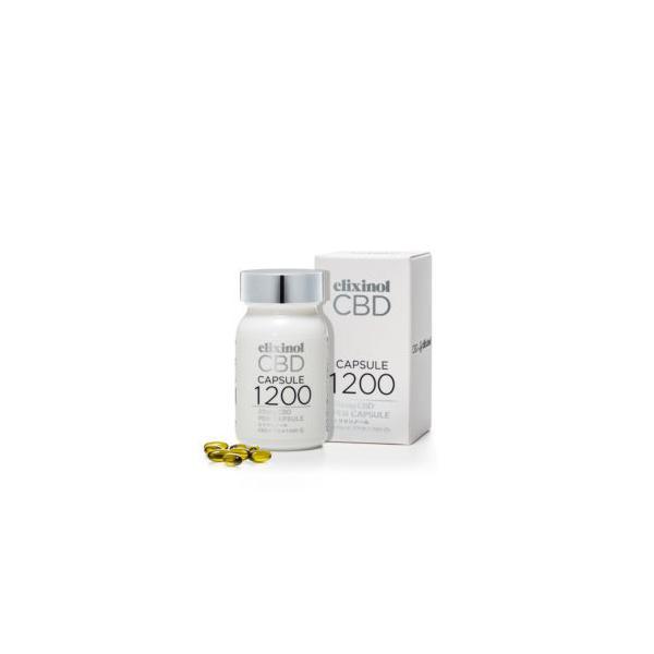【送料無料】CBDカプセル Elixinolリトリートオイルカプセル 60粒 ヘンプオイル CBD ヘンプ ヴィーガン エリクシノール|hempfoods