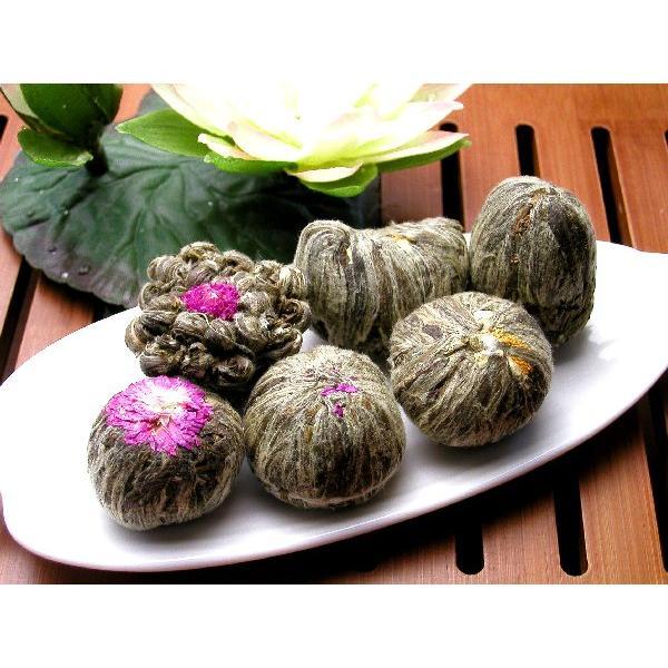 【花咲くお茶】工芸茶(細工茶)6種類 気軽な母の日ギフトに最適