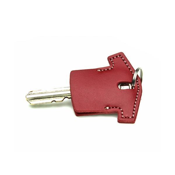 定形外郵便限定  送料無料ユニフォーム型 レザー キーカバー キーキャップ 日本製 牛革  鍵の識別 鍵の番号 NO. 隠しに