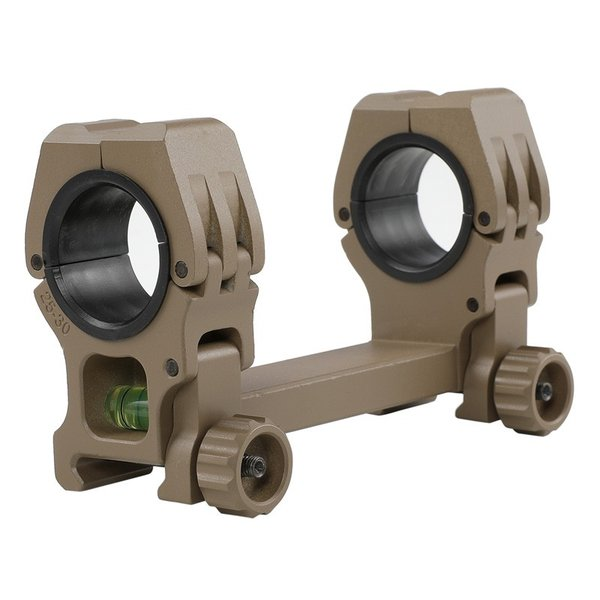 只今ポイント10倍 FMA American Rifle Company M10 QD-Lタイプ水平器付デュアルマウント DE