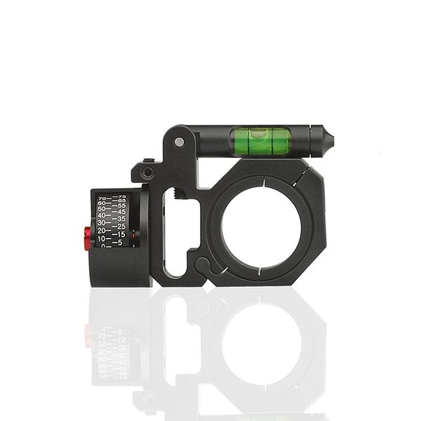DISCOVERY 水平器/角度計付スコープマウントリング 1inch/30mm|hercules-gear