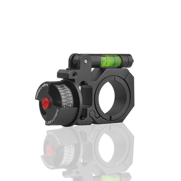 DISCOVERY 水平器/角度計付スコープマウントリング 1inch/30mm|hercules-gear|02
