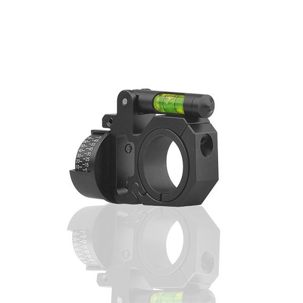 DISCOVERY 水平器/角度計付スコープマウントリング 1inch/30mm|hercules-gear|04