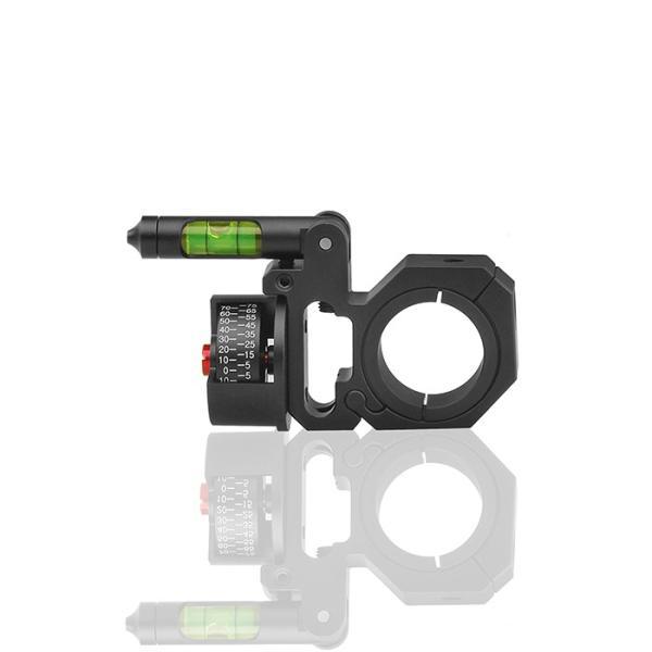 DISCOVERY 水平器/角度計付スコープマウントリング 1inch/30mm|hercules-gear|05