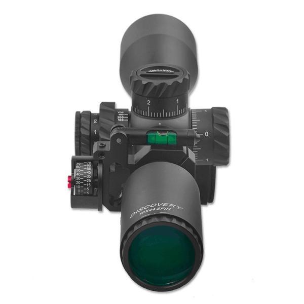 DISCOVERY 水平器/角度計付スコープマウントリング 1inch/30mm|hercules-gear|08