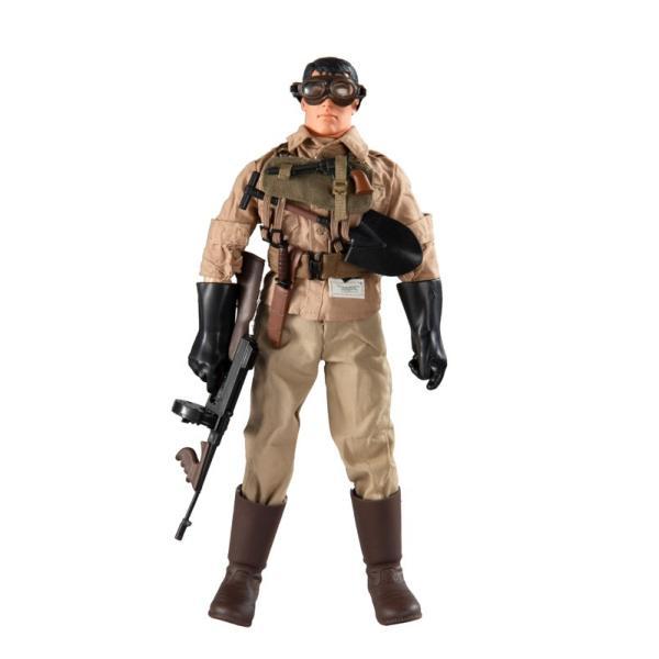 ミリタリーリアルアクションフィギュア第二次世界大戦太平洋戦域チノアメリカ陸軍下士官(1/6スケール)