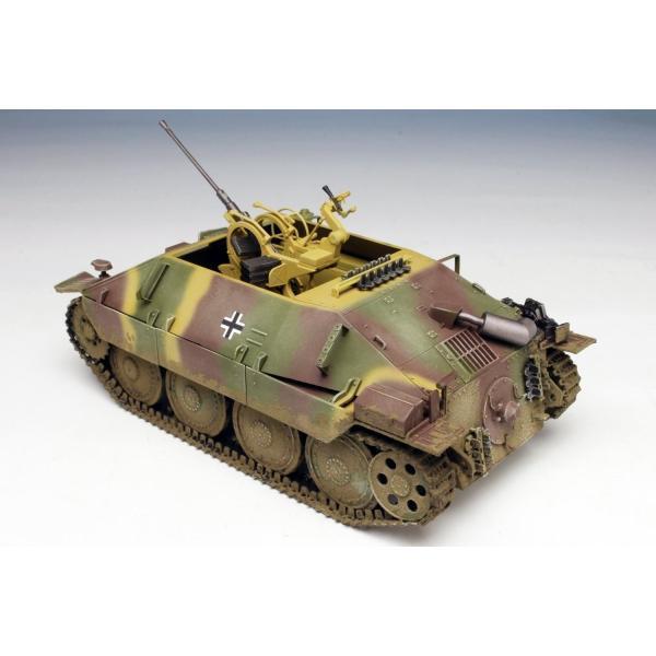 プラッツ 1/35 第二次世界大戦 ドイツ軍 駆逐戦車 38(t)2cm対空機関砲 Flak38搭載型 プラモデル DR6399|heros-shop
