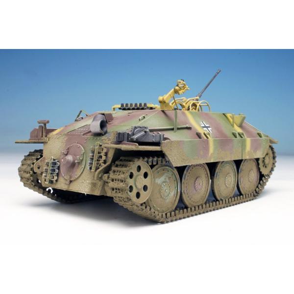 プラッツ 1/35 第二次世界大戦 ドイツ軍 駆逐戦車 38(t)2cm対空機関砲 Flak38搭載型 プラモデル DR6399|heros-shop|02