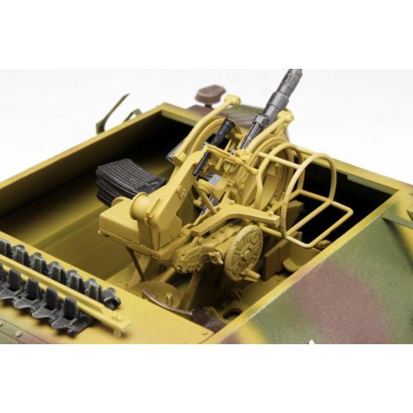 プラッツ 1/35 第二次世界大戦 ドイツ軍 駆逐戦車 38(t)2cm対空機関砲 Flak38搭載型 プラモデル DR6399|heros-shop|03