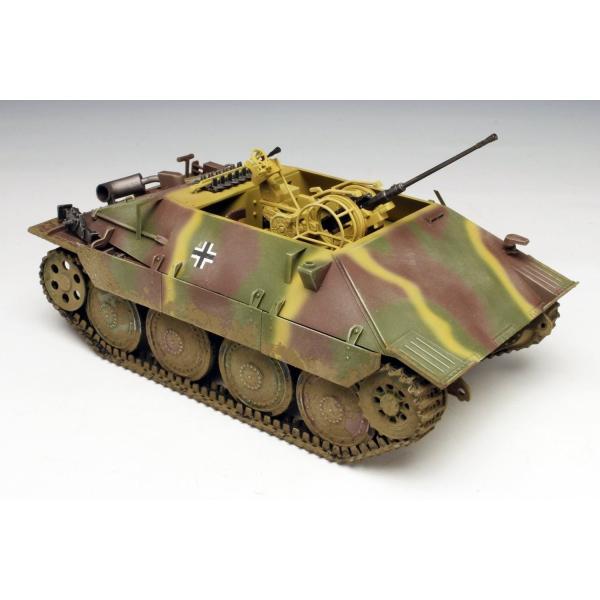 プラッツ 1/35 第二次世界大戦 ドイツ軍 駆逐戦車 38(t)2cm対空機関砲 Flak38搭載型 プラモデル DR6399|heros-shop|04