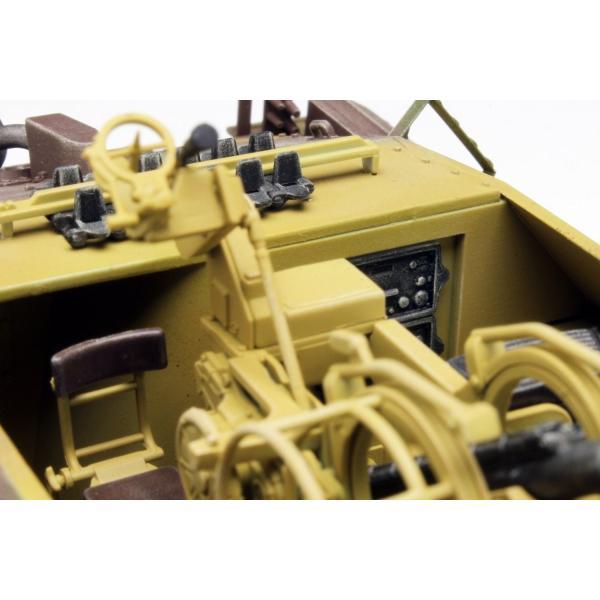 プラッツ 1/35 第二次世界大戦 ドイツ軍 駆逐戦車 38(t)2cm対空機関砲 Flak38搭載型 プラモデル DR6399|heros-shop|08