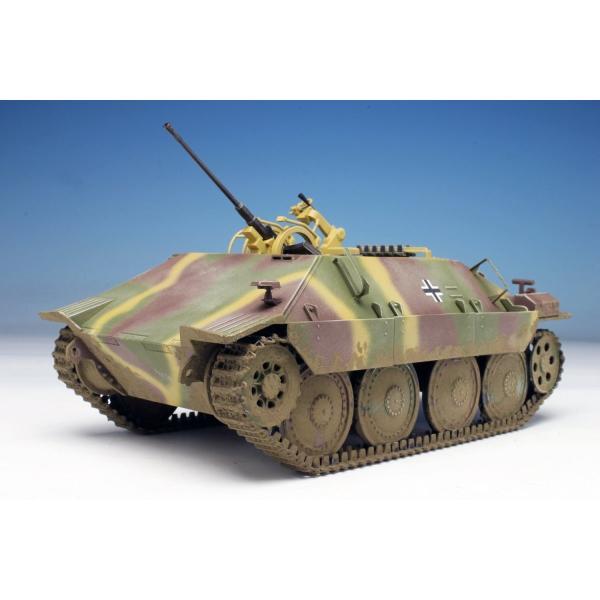 プラッツ 1/35 第二次世界大戦 ドイツ軍 駆逐戦車 38(t)2cm対空機関砲 Flak38搭載型 プラモデル DR6399|heros-shop|10