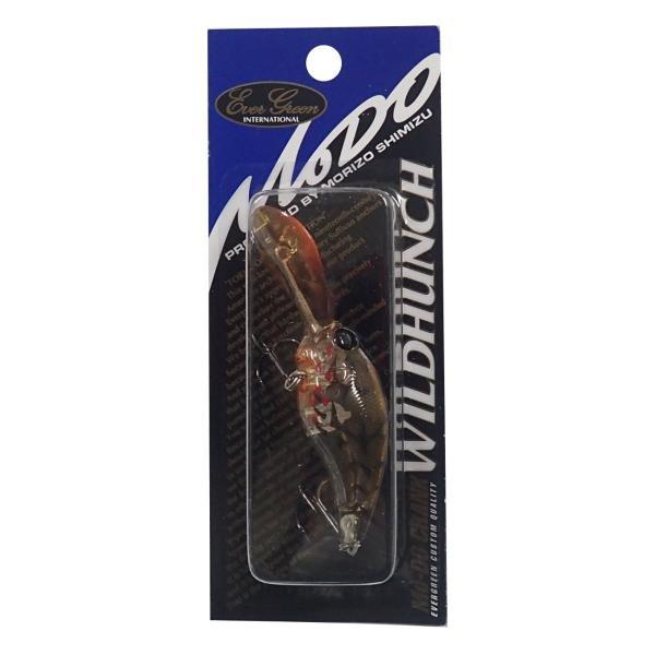エバーグリーン(EVERGREEN) クランクベイト モードクランク ワイルドハンチ 9.6g 5.2cm ブリーディングブラウンクロー #