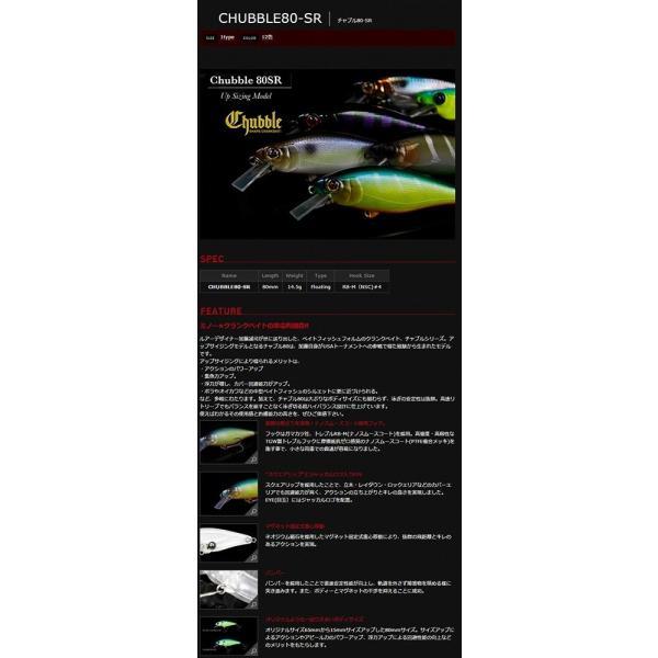 JACKALL(ジャッカル) クランクベイト チャブル80 SR 80mm 14.5g HSクォーターマジック ルアー