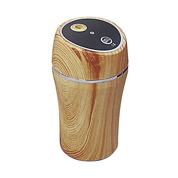 慶洋エンジニアリング(KEIYO) 超音波式 加湿器 USBミニ加湿器 (室内・車内兼用) 木目調 AN-S016WD