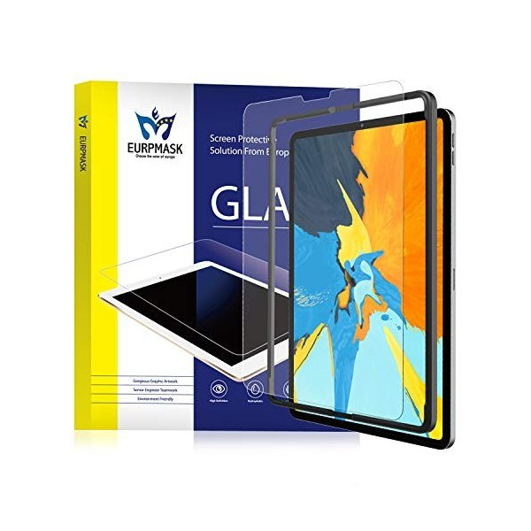 EURPMASK iPad Pro 11 2018 ガラスフィルム アンチグレア「Apple Pencil・ケースに干渉せず&サラサラタッチ|heros-shop|10