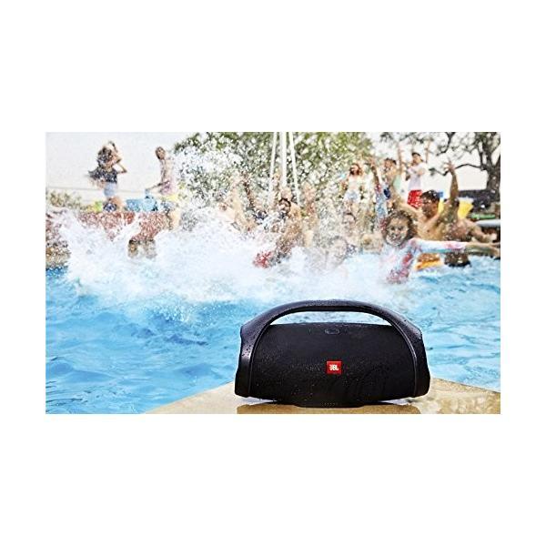 JBL BOOMBOX Bluetoothスピーカー IPX7防水/パッシブラジエーター搭載/ポータブル ブラック JBLBOOMBOXBL