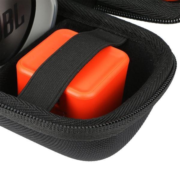 JBL Charge3 Bluetooth スピーカー 専用キャリングケース CHARGE 3対応旅行収納 -Khanka (ブラック)