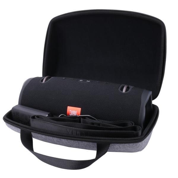 JBL Xtreme/Xtreme 2 ポータブル防水ワイヤレスBluetoothスピーカー 専用保護収納ケース (グレー)