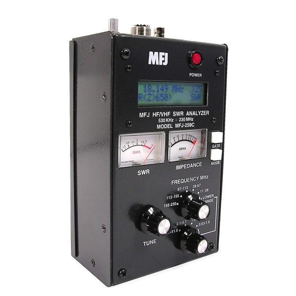 アマチュア無線用アンテナアナライザー(SWRアナライザー)MFJ-259C(並行輸入品)