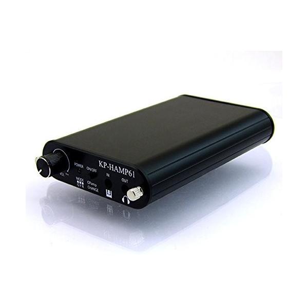 オペアンプ切り替え可能 ポータブルヘッドフォンアンプ コンプリートバージョン KP-HAMP61ACP