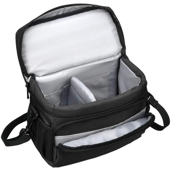 HAKUBA カメラバッグ ルフトデザイン アーバンウォーカー ショルダーバッグ M 4.4L ブラック SLD-UW-SBMBK|heros-shop|02