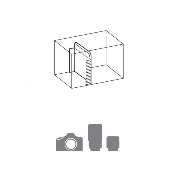 HAKUBA カメラバッグ ルフトデザイン アーバンウォーカー ショルダーバッグ M 4.4L ブラック SLD-UW-SBMBK|heros-shop|04