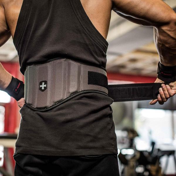 日本正規品 ハービンジャー(Harbinger) 男女兼用 トレーニングベルト ファームフィット カンツアーベルト 背中幅7.5インチ(19|heros-shop|02