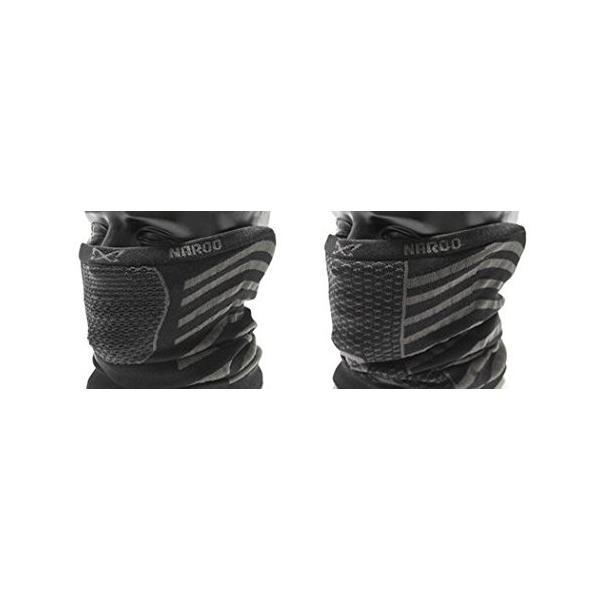 NAROO MASK(ナルーマスク) X9 防寒フェイスマスク スポーツマスク (ブラック)|heros-shop