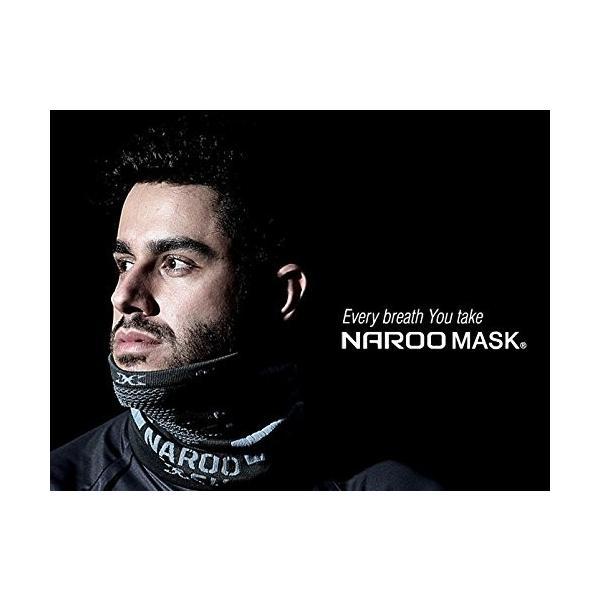 NAROO MASK(ナルーマスク) X9 防寒フェイスマスク スポーツマスク (ブラック)|heros-shop|13