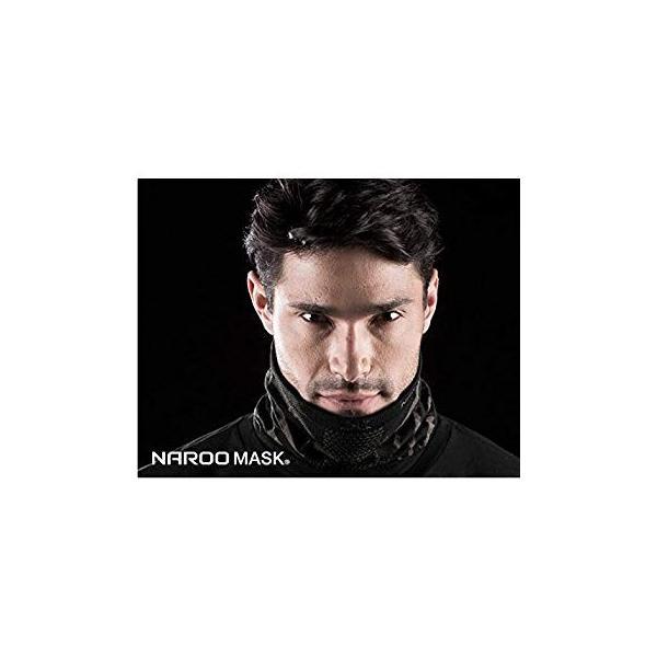 NAROO MASK(ナルーマスク) X9 防寒フェイスマスク スポーツマスク (ブラック)|heros-shop|03