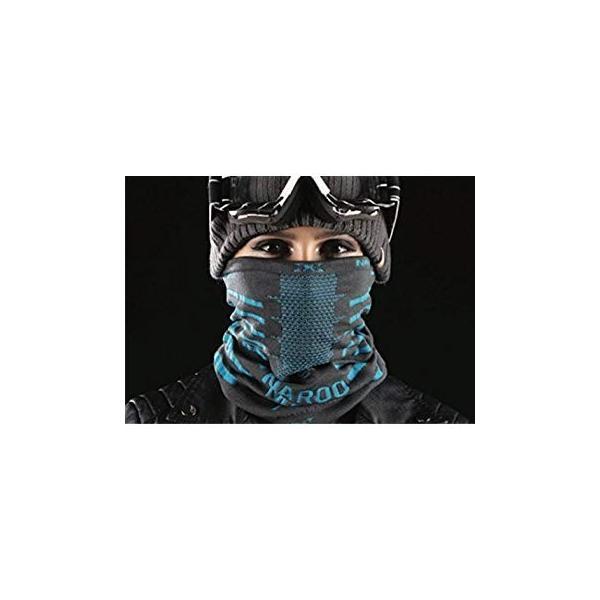 NAROO MASK(ナルーマスク) X9 防寒フェイスマスク スポーツマスク (ブラック)|heros-shop|04