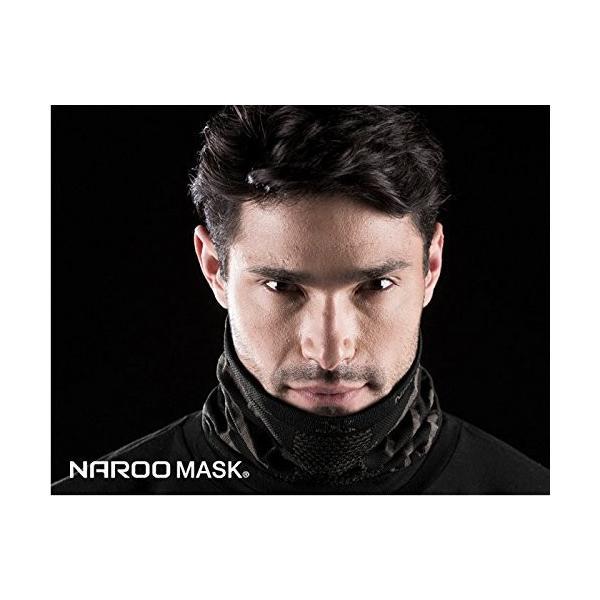 NAROO MASK(ナルーマスク) X9 防寒フェイスマスク スポーツマスク (ブラック)|heros-shop|05