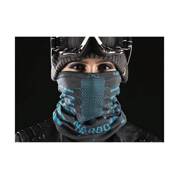 NAROO MASK(ナルーマスク) X9 防寒フェイスマスク スポーツマスク (ブラック)|heros-shop|08