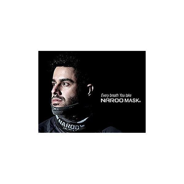 NAROO MASK(ナルーマスク) X9 防寒フェイスマスク スポーツマスク (ブラック)|heros-shop|10